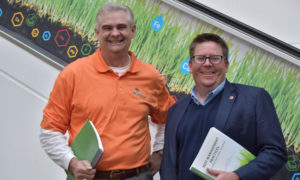 Drs. Bert McCarty from Clemson University and Jim Kerns from North Carolina State University were lead authors of the Carolinas GCSA's new Best Management Practices manual.