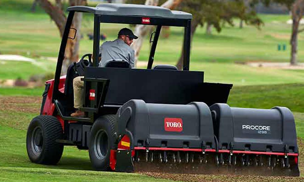 Toro launches revolutionary turf management equipment