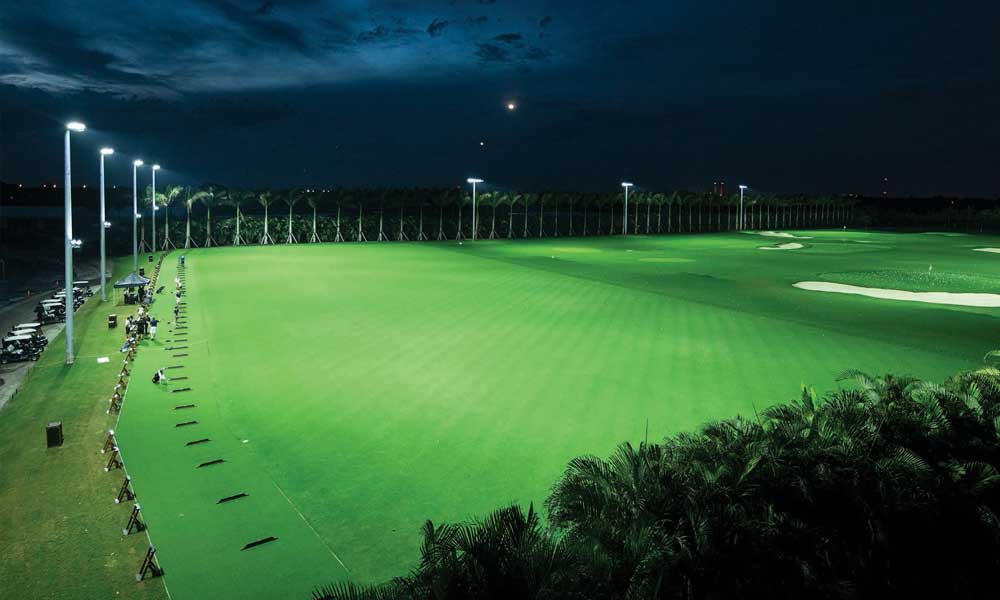 Led Lighting Can You Trump This On Your Driving Range