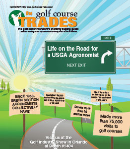 February 2017 Golf Course Trades for Superintendents