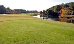 Crow Creek Golf Club showcased reshaped greens with a grass that is new to the Grand Strand market – V8 creeping bentgrass – and 11 new tee boxes when it reopened Oct. 9, 2017 following a four-month renovation project.