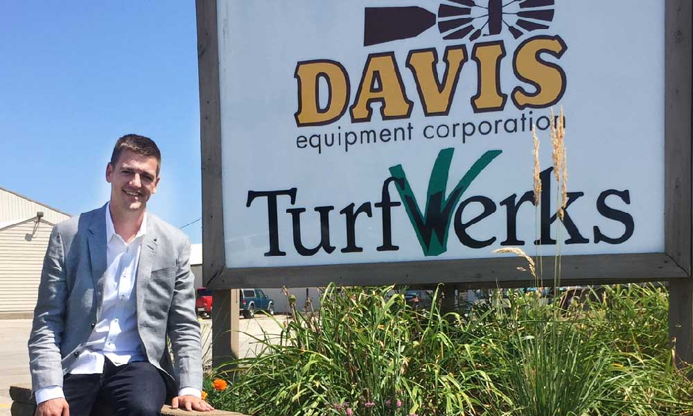 Zach Davis CEO Davis Equipment