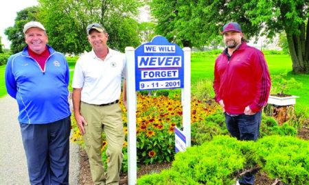 Selfridge Golf Course 9/11 memorial